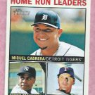 2013 Topps Heritage Home Run Leaders Miguel Cabrera Detroit Tigers # 10
