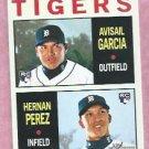 2013 Topps Heritage Avisail Garcia Hernan Perez Rookie Stars Detroit Tigers # 312