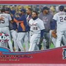 2013 Topps Baseball Red Detroit Tigers ALDS # 42