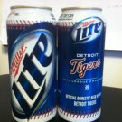 2013 Detroit Tigers Miller Lite Beer Can Punch Top