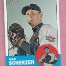 2012 Topps Heritage Max Scherzer Detroit Tigers # 140