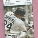 March 15 2013 Detroit Tigers VS Toronto Blue Jays Spring Training Ticket Miguel Cabrera