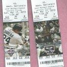 March 17 2013 Detroit Tigers VS Washington Nationals Spring Training Ticket Miguel Cabrera Lakeland