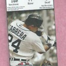 March 23 2013 Detroit Tigers VS New York Yankees Spring Training Ticket Miguel Cabrera