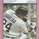 March 27 2013 Detroit Tigers VS Philidelphia Phillies Spring Training Ticket Miguel Cabrera