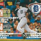 1993 94 Budweiser Detroit Tigers Calander 1968 25th Aniv World Series Tribute Alan Trammell