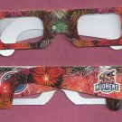 Oddball Toledo Mudhens Fireworks Viewing Glasses SGA  Detroit Tigers AAA