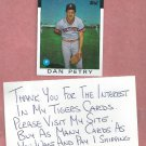 1986 Topps Dan Petry Detroit Tigers # 540