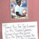 1989 Fleer Lou Whitaker Detroit Tigers # 151