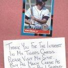 1988 Donruss Kirk Gibson Detroit Tigers # 275