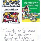 2013 Toledo Walleye ECHL 2014 Toledo Mudhens Pocket Schedule Detroit Tigers AAA