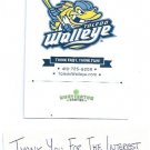 Toledo Walleye ECHL Ticket Envelope