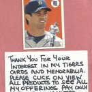 2000 Fleer Tradition Brad Ausmus Detroit Tigers # 291