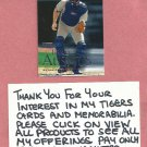 2000 Skybox Brad Ausmus Detroit Tigers # 103