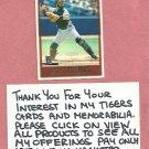 1997 Topps Brad Ausmus Detroit Tigers # 402