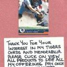 2001 Pacific Brad Ausmus Detroit Tigers # 149