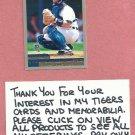 2000 Topps Brad Ausmus Detroit Tigers # 136