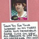 1981 Topps Dan Petry Detroit Tigers # 59