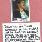 1982 Topps Dan Petry Detroit Tigers # 211