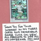 2004 Topps Chrome Refractor Carlos Pena Detroit Tigers # 294