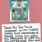 1987 Fleer Dave Bergman Detroit Tigers # 144