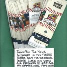 2013 Toledo Mudhens Mud Hens Unused Tickets Most Games Detroit Tigers AAA