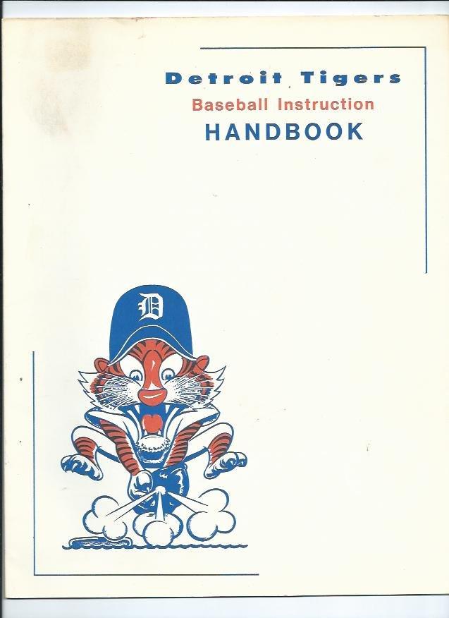 1970's Detroit Tigers Baseball Instruction Handbook RARE ODDBALL