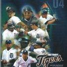 2004 Detroit Tigers Scorecard Ivan Rodriguez Unscored
