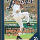 2009 Detroit Tigers Magazine Issue 4 Jarrod Washburn Cover