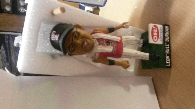 2014 Toledo Mudhens Leon Bull Durham Bobble Head Detroit Tigers AAA