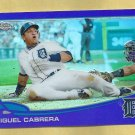 2013 Topps Chrome Purple Refractor Miguel Cabrera Detroit Tigers # 100