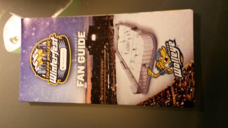 Toledo Walleye Winterfest Fan Guide First ECHL Outdoor Hockey Game