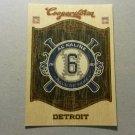 2014 Panni Coopertown Hall Of Fame Insert Al Kaline Detroit Tigers # 11