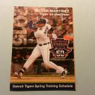 2015 Detroit Tigers Spring Training Pocket Schedule Victor Martinez