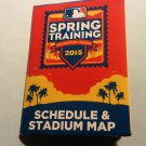2015 MLB Spring Training Schedule & Map Grapefruit League