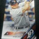 2016 Topps Miguel Cabrera Detroit Tigers # 250