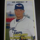 2016 Topps Heritage Minor League Joe Jimenez # 143 Detroit Tigers Rookie