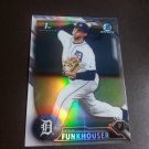 2016 Bowman Chrome Draft Prospects Refractor Kyle Funkhouser Dteroit Tigers Rookie #BDC-22