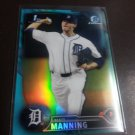 2016 Bowman Draft Chrome Blue Matt Manning Detroit Tigers Rookie # BDC-30