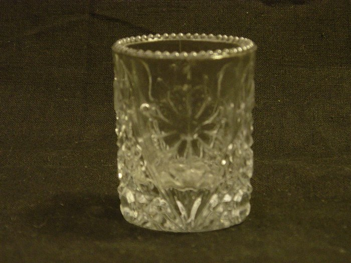 Imperial Glass Mayflower Toothpick Holder