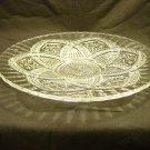 EAPG Indiana Glass 1915 Flower Medallion Sandwich / Serving Platter