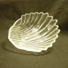 Pilgrim Glass Crystal Seashell Bon-Bon Candy Dish