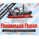 Original Sugar Free Lofthouse Fisherman's Friend Lozenges x 6 Packs