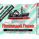 Mint Sugar Free Lofthouse Fisherman's Friend Lozenges x 6 Packs