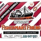 Cherry Sugar Free Lofthouse Fisherman's Friend Lozenges x 4 Packs