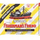 Lemon Sugar Free Lofthouse Fisherman's Friend x 4 Packs