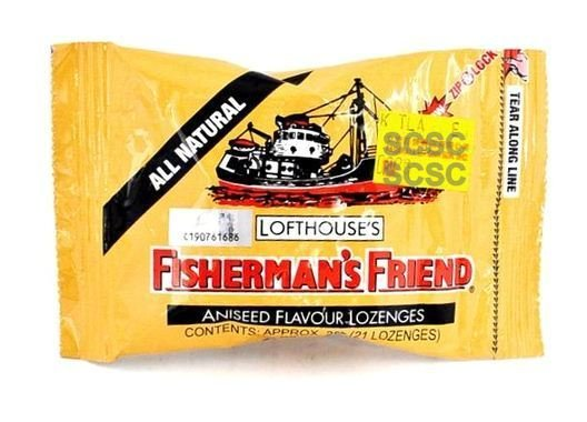 All Natural Aniseed Lofthouse Fisherman's Friend x 4 Packs