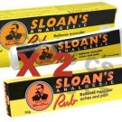 Sloan's Analgesic Rub Cream Relieves Muscular Aches & Pain 50g x 2