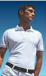 NWT Authentic Lacoste Pique Polo - Sz. 6 (LRG) White