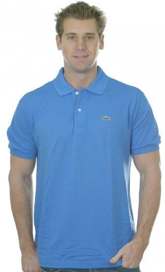NWT Authentic Lacoste Pique Polo - Sz. 7 (XLrg) Blue